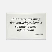 Oscar Wilde quote 31 Rectangle Magnet