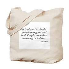 Oscar Wilde quote 32 Tote Bag