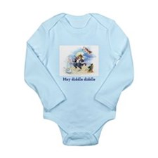 Cat and the Fiddle Long Sleeve Infant Bodysuit