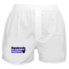 Squirrels Nature's Speed Bumps Boxer Shorts