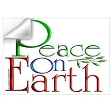 Peace on Earth Wall Decal