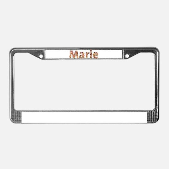 Marie Fiesta License Plate Frame