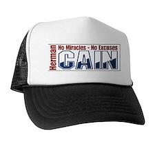 Cool Herman cain Trucker Hat