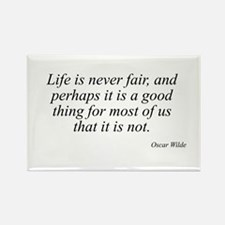 Oscar Wilde quote 45 Rectangle Magnet