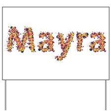 Mayra Fiesta Yard Sign