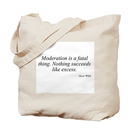 Oscar Wilde quote 51 Tote Bag