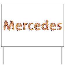 Mercedes Fiesta Yard Sign