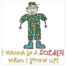 Future Soldier Poster