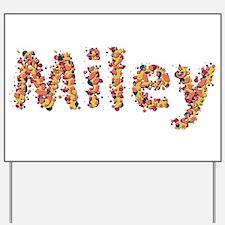 Miley Fiesta Yard Sign