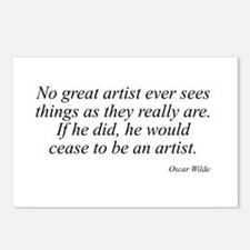 Oscar Wilde quote 60 Postcards (Package of 8)
