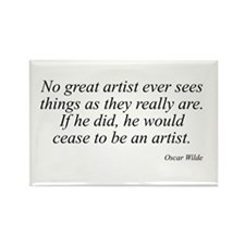 Oscar Wilde quote 60 Rectangle Magnet