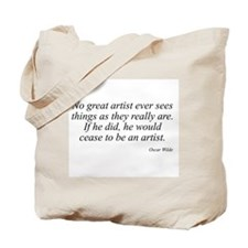 Oscar Wilde quote 60 Tote Bag