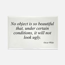 Oscar Wilde quote 62 Rectangle Magnet