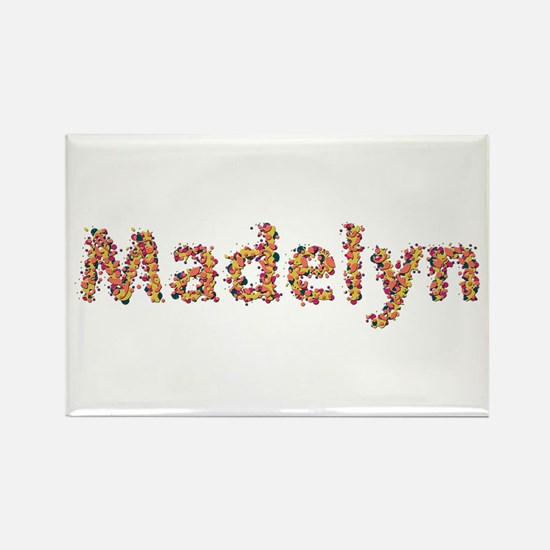 Madelyn Fiesta Rectangle Magnet