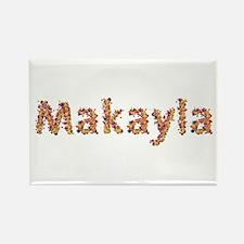 Makayla Fiesta Rectangle Magnet
