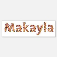 Makayla Fiesta Bumper Car Car Sticker
