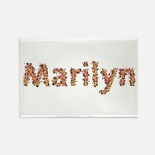 Marilyn Fiesta Rectangle Magnet