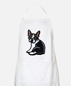 Cute Boston Terrier Apron