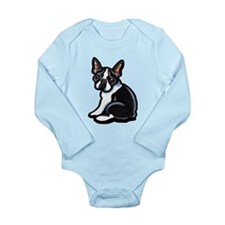 Cute Boston Terrier Onesie Romper Suit