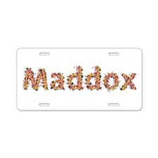 Maddox Fiesta Aluminum License Plate