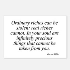 Oscar Wilde quote 77 Postcards (Package of 8)
