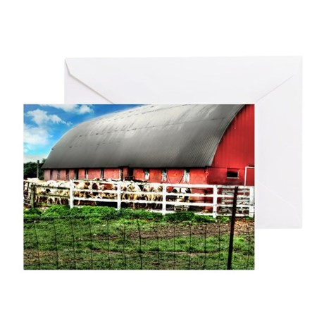 Country Cows Greeting Cards (Pk of 10)