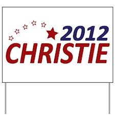 Chris Christie 2012 Yard Sign