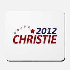 Chris Christie 2012 Mousepad