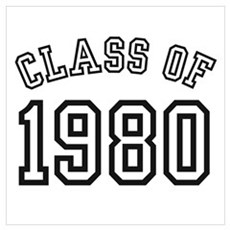 Class of 1980 Poster