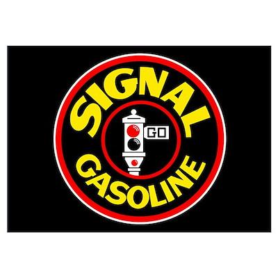 Signal Gasoline Poster