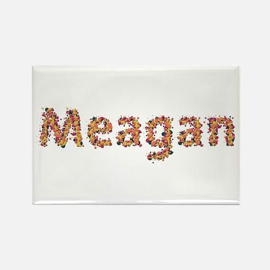 Meagan Fiesta Rectangle Magnet