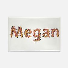 Megan Fiesta Rectangle Magnet