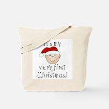 1st Christmas (white) Tote Bag