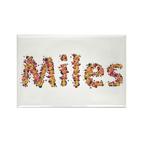 Miles Fiesta Rectangle Magnet