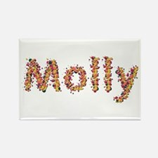 Molly Fiesta Rectangle Magnet