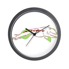 Adopt a Greyhound - Retro Wall Clock