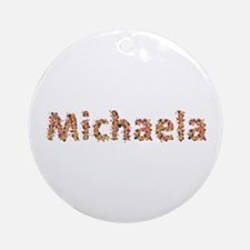 Michaela Fiesta Round Ornament