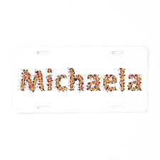 Michaela Fiesta Aluminum License Plate