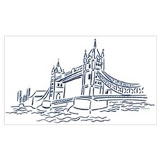 London: Tower Bridge Canvas Art