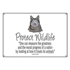Protect Wolves Banner