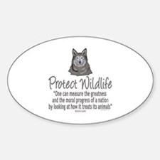 Protect Wolves Decal