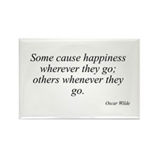 Oscar Wilde quote 88 Rectangle Magnet