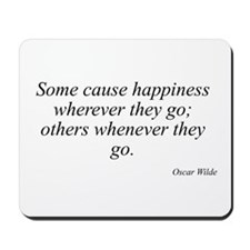 Oscar Wilde quote 88 Mousepad