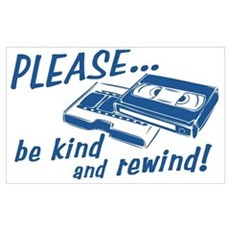 Be Kind and Rewind Poster