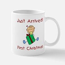 Boy Just Arrived 1st Christmas Mug