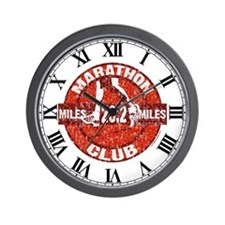 Marathon Club Wall Clock
