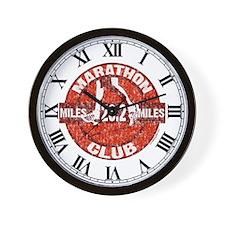 Marathon Club Wall Clock