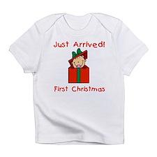 Girl 1st Christmas Infant T-Shirt