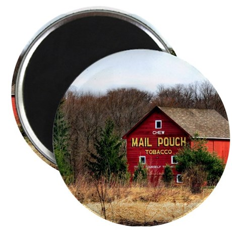 "Mail Pouch Barn 2.25"" Magnet (10 pack)"