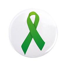 """Green Ribbon 3.5"""" Button"""